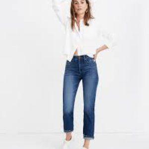 Madewell Classic Straight Jeans AA614